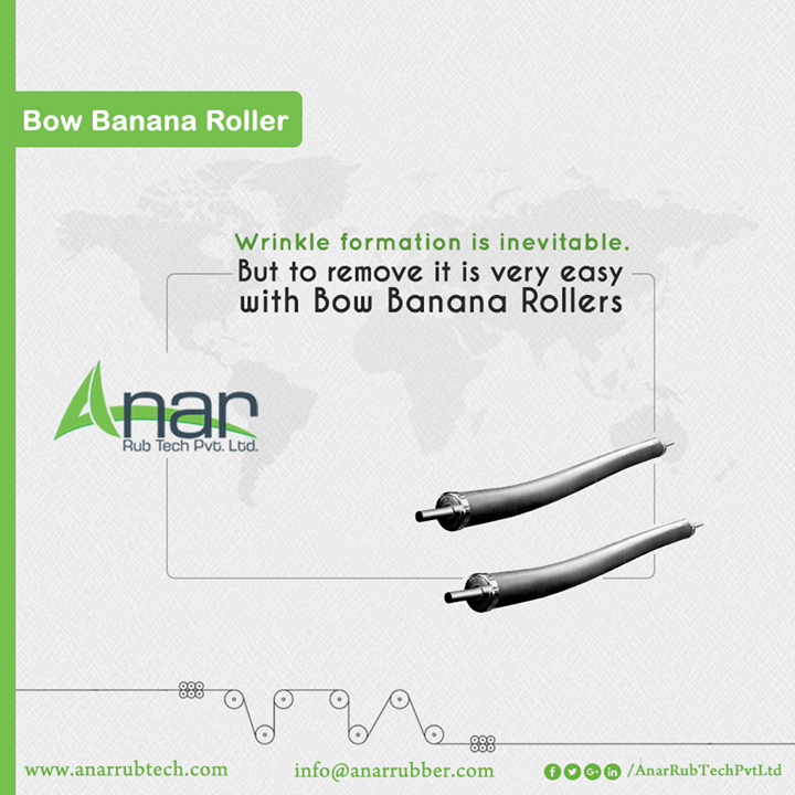 Bow Banana Rollers by Anar Rub Tech removes wrinkles and never lets it form again with easy mechanism and safe processing. #BowBananaRollers #BowBananaRollersManufacturers #BowBananaRollersSuppliers #BowBananaRollersExporters