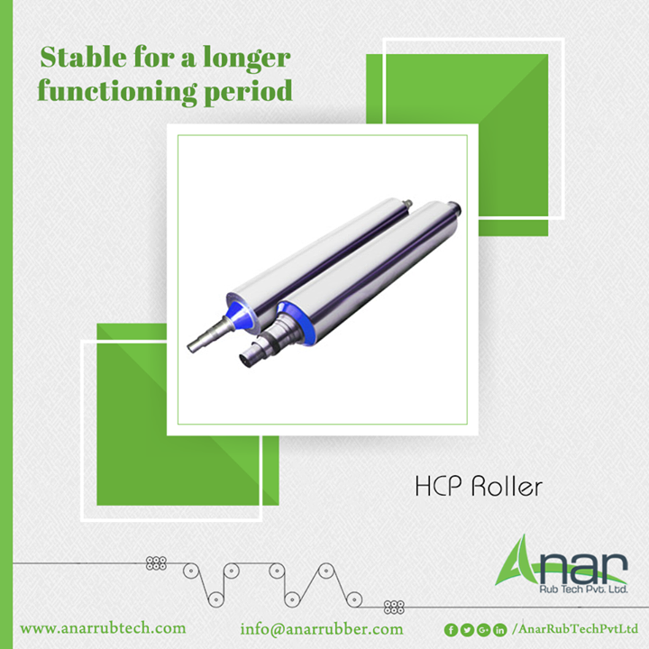 HCP Rollers by Anar Rub Tech are made with high quality standards which satisfies international requirements that makes functions long lasting.  #HCPRollers #HCPRollersManufacturers #HCPRollersSuppliers #HCPRollersExporters