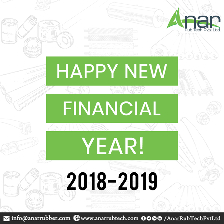 A new financial year always brings new opportunities for a business and gives a chance to prosper again with new and optimum resources. Anar Rub Tech wishes you all a very prosper and a wealthy Financial Year for happiness of you and your family.  #HappyFinancialYear #FinancialYear #AnarRubTechPvtLtd