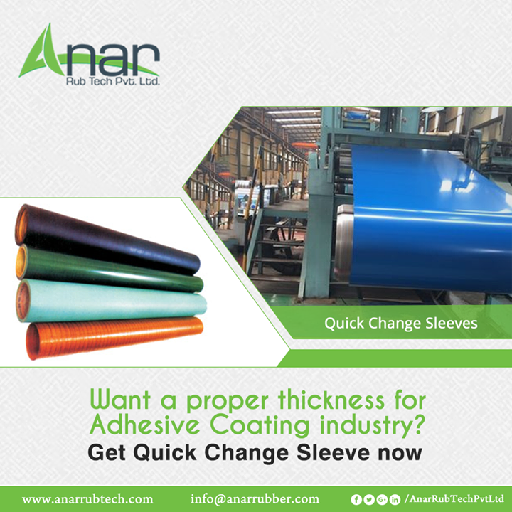 Anar Rub Tech,  QuickChangeSleeves, QuickChangeSleevesManufacturers, QuickChangeSleevesSuppliers, QuickChangeSleevesExporters