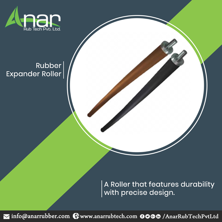 Anar Rub Tech,  RubberExpanderRoller, RubberExpanderRollerManufacturers, RubberExpanderRollerSuppliers, RubberExpanderRollerExporters