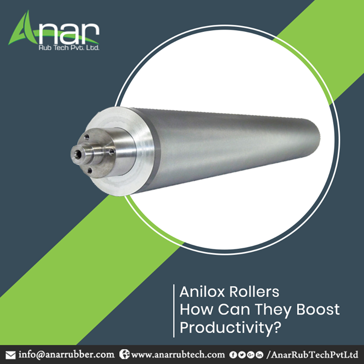 When Anilox roller is combined with a quality ink supply system, it automatically controls the pressure, flow rate, and density of the ink from bucket to the anilox roll. Thereby, bringing in benefits like uniform print quality, less amount of ink and substrate waste, high speed press work, easier cleaning and less emissions. Anar Rub Tech Pvt Ltd. offers the best Anilox Rollers. We are sure youd come back to us for more! #AniloxRoller #AniloxRollerManufacturers #AniloxRollerSuppliers #AniloxRollerExporters