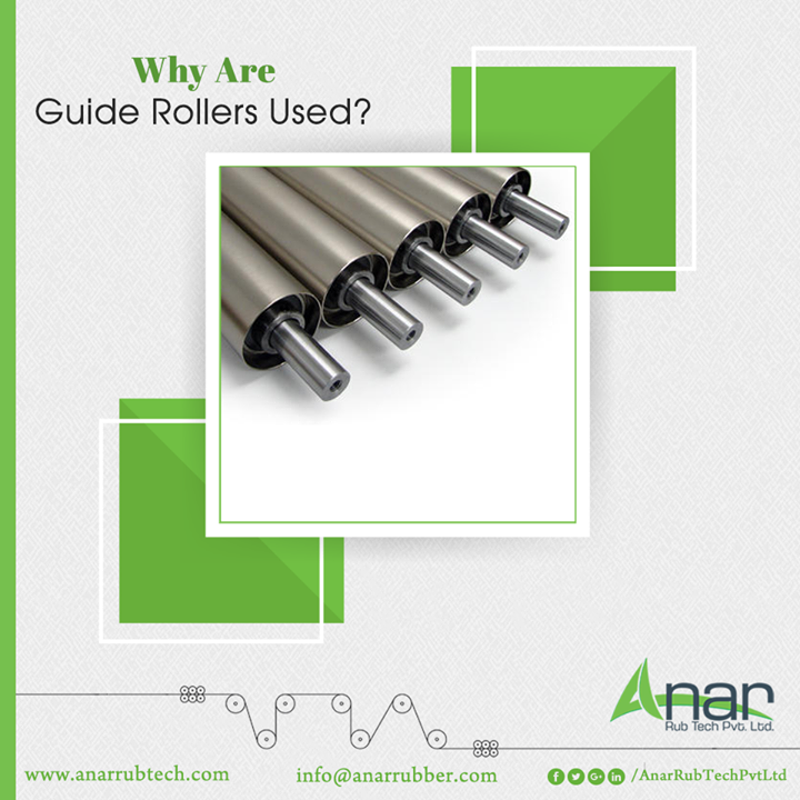 While working on open casting rollers like bridle roller for steel and aluminium plants, Anar Rub Tech can provide the best of guide rollers for their tension leveller line. These rollers come in different dimensions and types of flat ribbed. Main industries are steel, iron, aluminium, wood and textile that need guide rollers. Our products are corrosion resistant and durable.  #GuideRollers #GuideRollersManufacturers #GuideRollersSuppliers #GuideRollersExporters