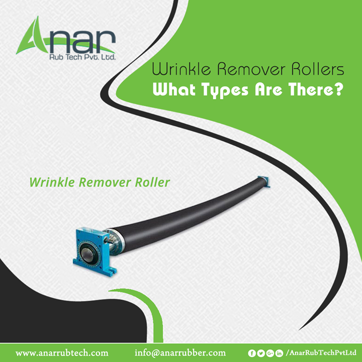 Anar Rub Tech has some of the best quality wrinkle remover rollers for industrial uses. They assure aggressive wrinkle removal with zero web distortion. The designs with rubber sleeve compound and design are specifically done for field usage. They have optimum spread adjust and in Rubber Grooved Spreader Roller, Aluminum Slat Expander Roller, Polyband Expander Roller, Rubber Expander Roller and Metal Expander categories. #wrinkleRemoverRollers #wrinkleRemoverRollersManufacturers #wrinkleRemoverRollersSuppliers #wrinkleRemoverRollersExporters