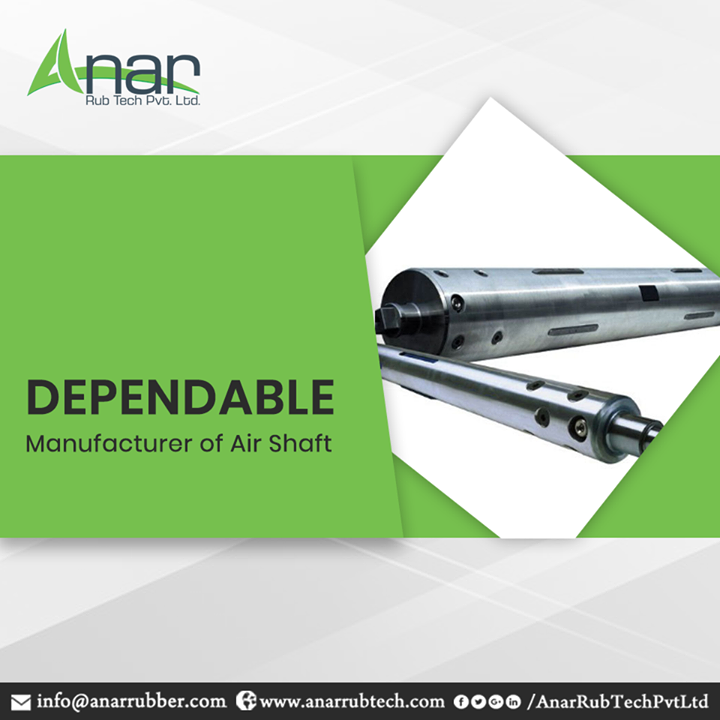 With a customisable length and overbearing of a load of 2 tonnes, we manufacture reliable air shaft which is suitable for core materials like steel, paper and thermoplastics. Our production of air shaft manufacturing has the capacity of reaching an astounding speed of 1000 meters/minute with features that include Teflon strip for better slippage and compensating speed variation due to gauge variation with multi-cores. #AirShaft #AirShaftManufacturers #AirShaftSuppliers #AirShaftExporters