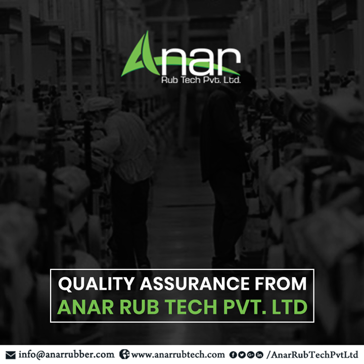 In 1978, we began our journey of manufacturing rubber productsaccording to your needs. Delivering internationally to over 100 countries, our main motto is to satisfy our customers with customized solutions brought to usby our super efficient R&D Team. Delivery within the promised delivery date along with meticulous quality testing is assured. #AnarRubTechPvtLtd