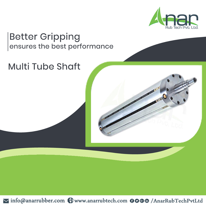 Anar Rub Tech manufactures Multi Tube Shaft which is superior in functioning and that leads to superior outcomes for any industry. #MultiTubeShaft #AnarRubTechPvtLtd