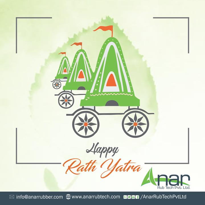 Lord Jagannath, drench all of us with divinity Fill all of us with purity and kindness.  #Rathyatra #AnarRubTechPvtLtd