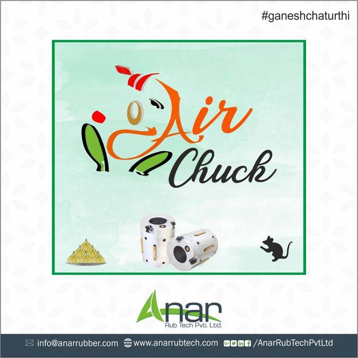 Did you find anything special in the image? If yes, answer in the comment section now. #anarrubtech #airchuck #ganeshchturthi