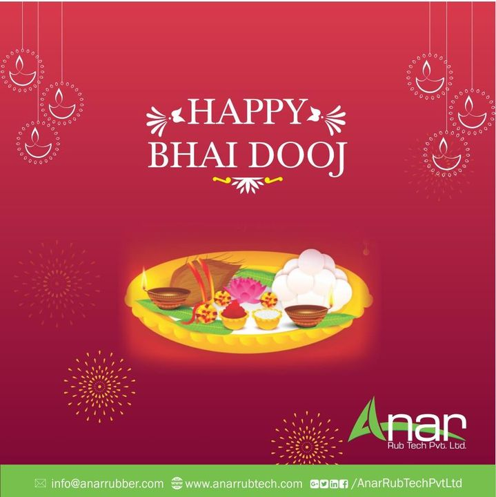 On this Bhai Dooj, bring back the lively spirit of childhood, play pranks and become the wacky siblings that we were always.   #HappyBhaiDooj #RubberRollerManufacturer  #RubberRollerExporters  #RubberRollerSuppliers