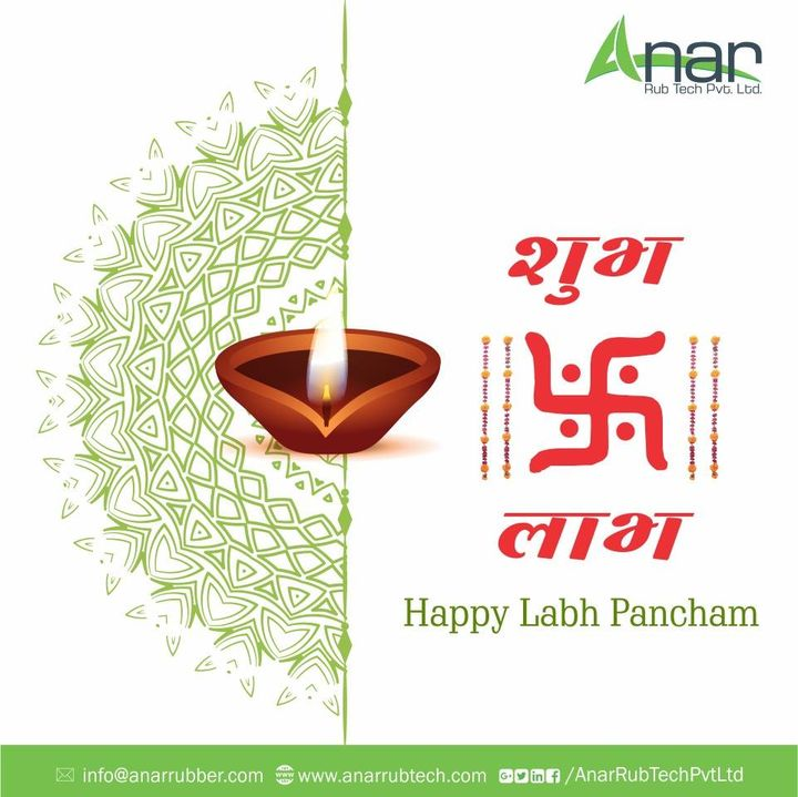Happy Labh Pancham! Time to resume the business on the auspicious day of Labh Pancham to gain more prosperity and wealth in business.   #happyLabhPancham #RubberRollerManufacturer  #RubberRollerExporters  #RubberRollerSuppliers