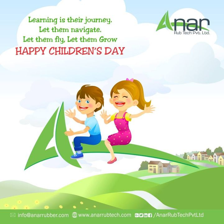 Children are the best creation of God, they spread joy in every season. Happy Children's Day. #happyChildren'sDay #RubberRollerManufacturer  #RubberRollerExporters  #RubberRollerSuppliers