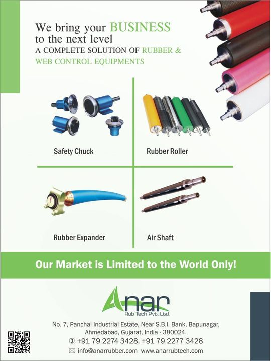 High-tech advancement to every product of Anar Rub Tech specially designed to cater your needs and facilitate your business operations.  #AnarRubTech