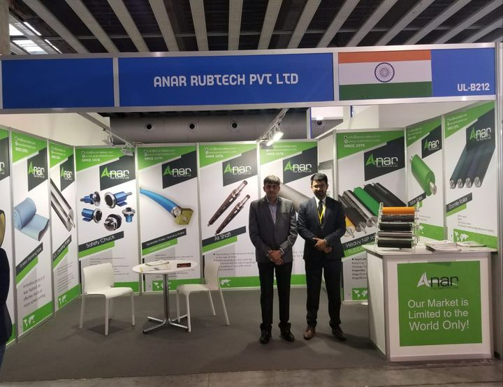 #AnarRubTech with all its enthusiasm and High spirits,  awaits you at ITMA 2019 in Barcelona..Don't forget to visit the stall no UL-B2, 12 #RubberRollerManufacturer #RubberRollerExporters #RubberRollerSuppliers