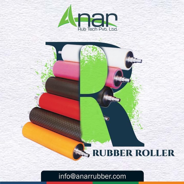 Anar brings a vast range of products for your Construction works Check on our Rubber Roller and contact us for more details. #k2019 #AnarRubTech #RubberRollerManufacturer #RubberRollerExporters #RubberRollerSuppliers #Saftychucks #BowRoller