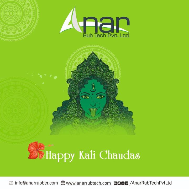 Prosperity,health and wealth good luck and success is sent your way this kali chaudas straight from the heavens above.Happy Kali Chaudas. #HappyKaliChaudas #AnarRubTech #RubberRollerManufacturer #RubberRollerExporters #RubberRollerSuppliers