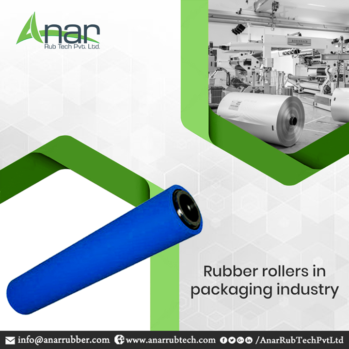 Our best practices for manufacturing rubber rollers have gained international fame for the sheer reason of producing quality products. The packaging industry forms the most important client base of our company, who depend on us for a variety of product range, including Multi Tube Type Air Shaft, Rubber Expander Rollers, Mechanical Expanding Shaft, and Banana Bow Roller. Our cost-effective supply chain and strict quality control has made us industry leaders in this field. #AnarRubTechPvtLtd