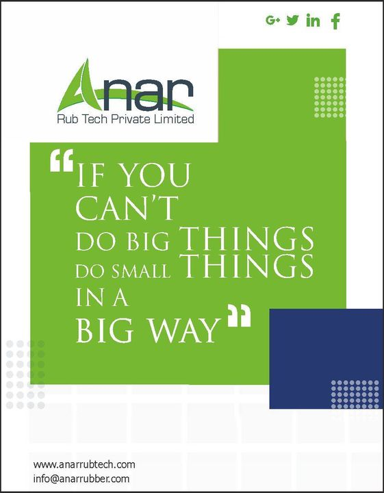 Quote Of The Day #AnarRubTech  #rubberproduct #RubberRollerManufacturer   #rubberroller  #RubberRollerExporters  #RubberRollerSuppliers