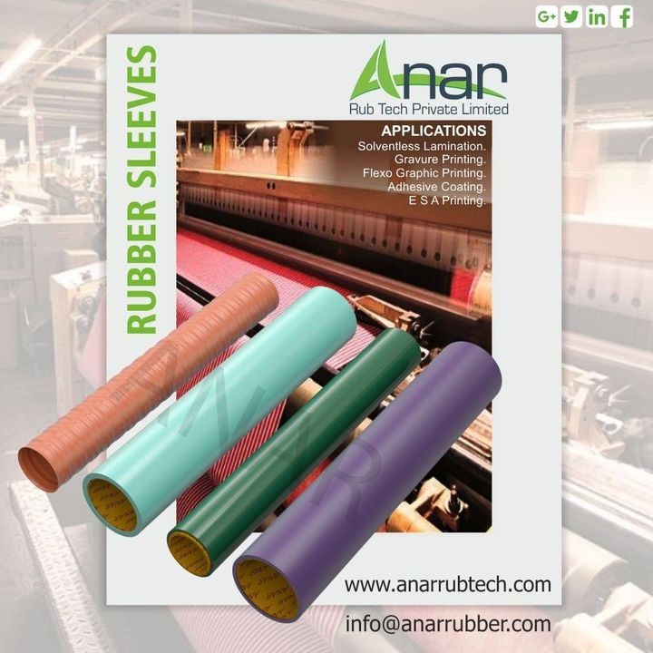 Anar Rub Tech,  anarrubtech, rubberroller, anarrubtechpvtltd, rubbersleeves, rubberexpander, rubberproducts