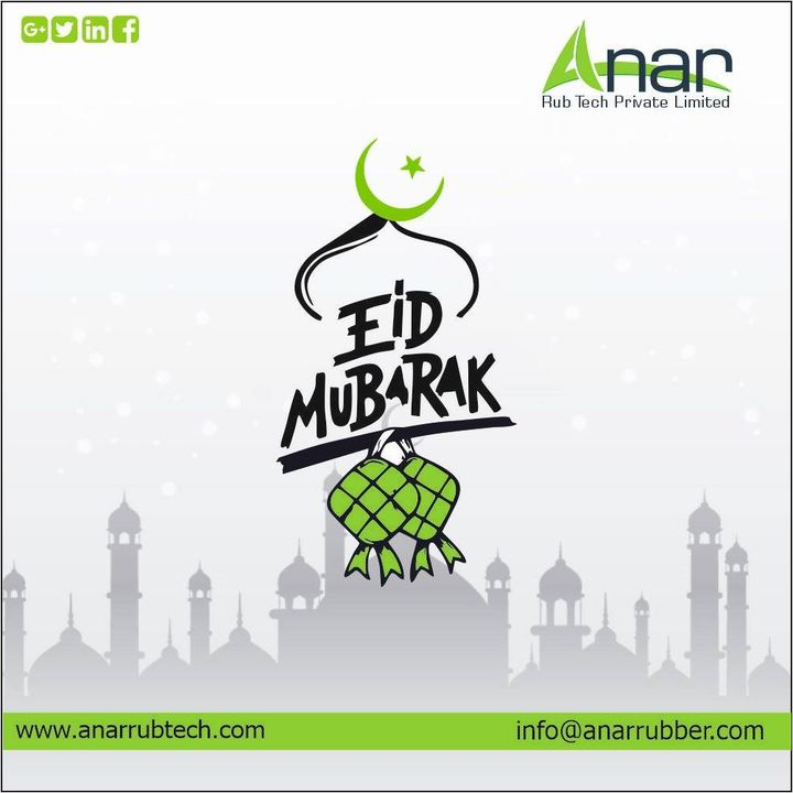 May this Eid bring happiness, joy, success and Allah shower his blessings and love on you and your family. Eid Mubarak! #eidmubarak #anarrubtech #rubberroller #anarrubtechpvtltd #rubbersleeves #rubberexpander #rubberproducts