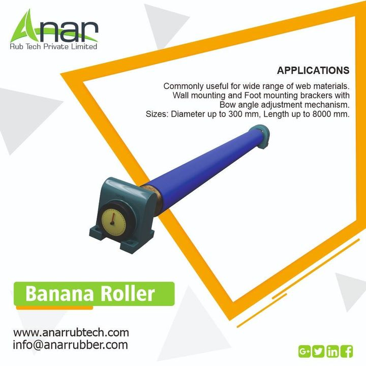 Banana Rollers by Anar Rub Tech removes wrinkles and never lets it form again with easy mechanism and safe processing. #BowBananaRollers #BowBananaRollersManufacturers #BowBananaRollersSuppliers #BowBananaRollersExporters