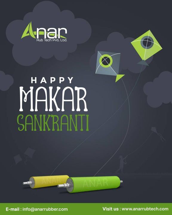 Like the joy of the kite flying high, may your life be filled with abundance and new heights Happy Makar Sankranti..  #rubberroller #anarrubtechpvtltd #rubbersleeves #rubberexpander #airshaft  #safetychuck #bowroller #bananaroller #hcproller #plasticindustry #packgingindustrys #rubberproducts #HappyMakarSankranti  #makarsankranti #uttarayan #kitefestiva  #happymakarasankranti #makarasankranti2021 #happyuttarayan #uttarayan #makarsankranti #kites #kitefestival #sankranti #kiteflying #rubberrollers #manufacturers #suppliers #ahmedabad #gujarat #india