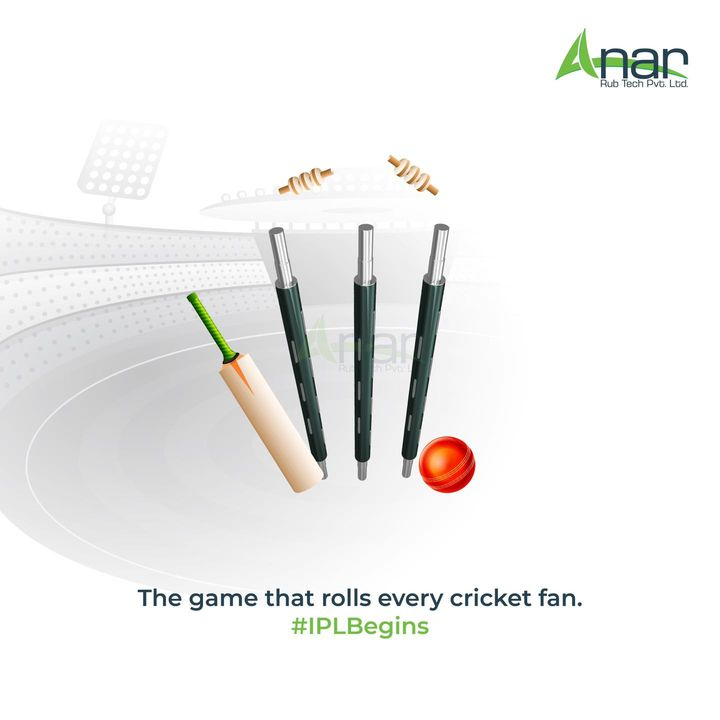 The nation's biggest entertainer is here. Who do you think will win today's IPL match?  Know more information about Industrial Rubber Rollers, contact us at +91-9825047390 or visit our website: anarrubtech.com  #printingindustry #paperindustry#plasticindustry #textileindustry #businessequipments #rubberrollers #rubberroller #exportrubberroller #industrialrubberroller #IPL #iplfirstmatch #socialsamosa #iplbegins