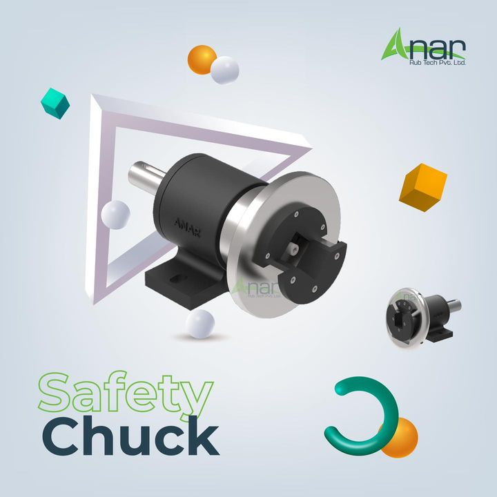 Safety Chucks is manufactured using supreme grade quality components that is sourced from reliable vendors of the market keeping in mind set industry norms. Tested on various quality parameters, to deliver the quality approved range for our respected customers at nominal market price.  To know more about us, visit our website anarrubtech.com or give us a call at +91-9825047390  #rubberroller #paperindustry#packagingindustry #plasticindustry #textileindustry #businessequipments #rubberrollers #safetychuck #coreshaftchuck #squarebarholder #windingsafetychuck #unwindingsafetychuck #windingmachine #unwinder #winder #chuck #newsafetychuck