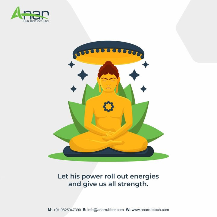 On this auspicious occasion of Mahavir Jayanti, we wish you and your family strength and enlightenment. Happy Mahavir Jayanti!  #topicalpost #socialsamosa #rubber #rubberrollers #rubberrollerexporter #mahavirjayanti2021 #mahavirjayanti #anarrubtechpvtltd