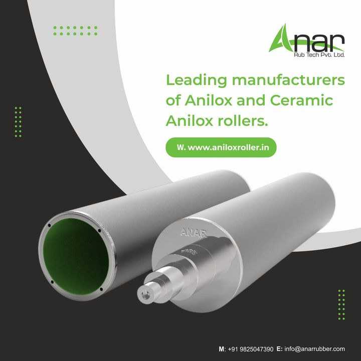 Our company manufactures Anilox Rollers which are usually used in Flexographic printing.  You can contact us on +91 9825047390 or visit aniloxroller.in  #aniloxroller #aniloxrollers #ceramicaniloxroller #aniloxsleeve #ciflexo  #flexographicprinting #gravureprinting #flexiblepackagingindustry #wovensacksindustry #papercupindustry #textileindustry #BOPPtapeindustry #offsetindustry #paperindustry
