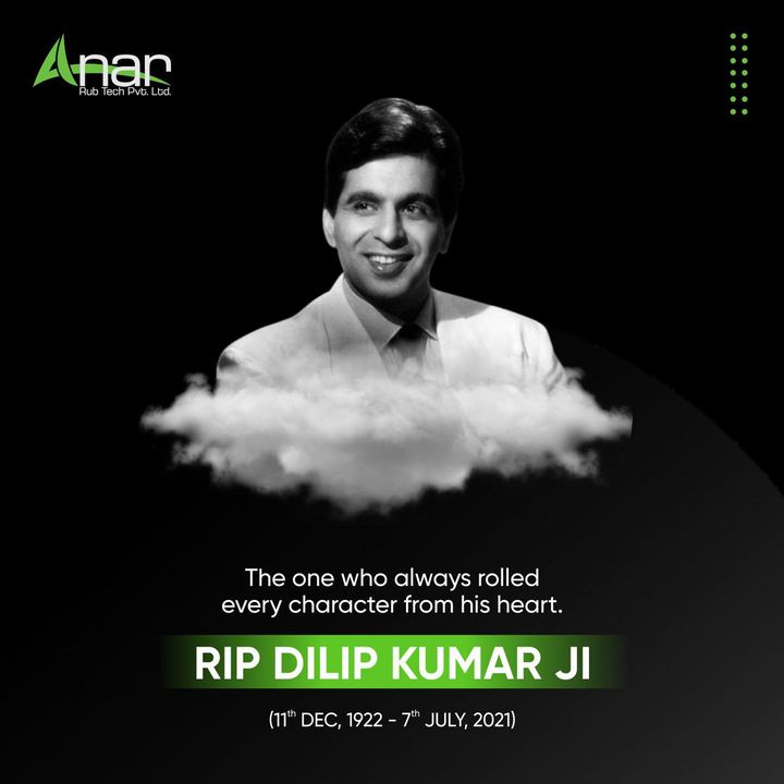 He acted his heart out in every role he ever played. RIP Dilip Saab.  #dilipkumar #ripdilipkumar #ripdilipkumarsahab #dilipkumarfans #socialsamosa #newsupdate