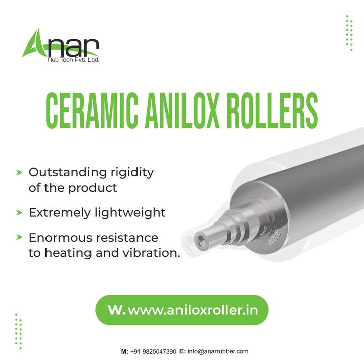 Providing high-performance products is the only main objective of the Anar Rubtech Pvt Ltd.  Visit us at aniloxroller.in or contact +91 9825047390   #aniloxroller #aniloxrollers #ceramicaniloxroller #aniloxsleeve #ciflexo #flexographicprinting #gravureprinting #flexiblepackagingindustry #wovensacksindustry #papercupindustry #textileindustry #BOPPtapeindustry #offsetindustry #paperindustry