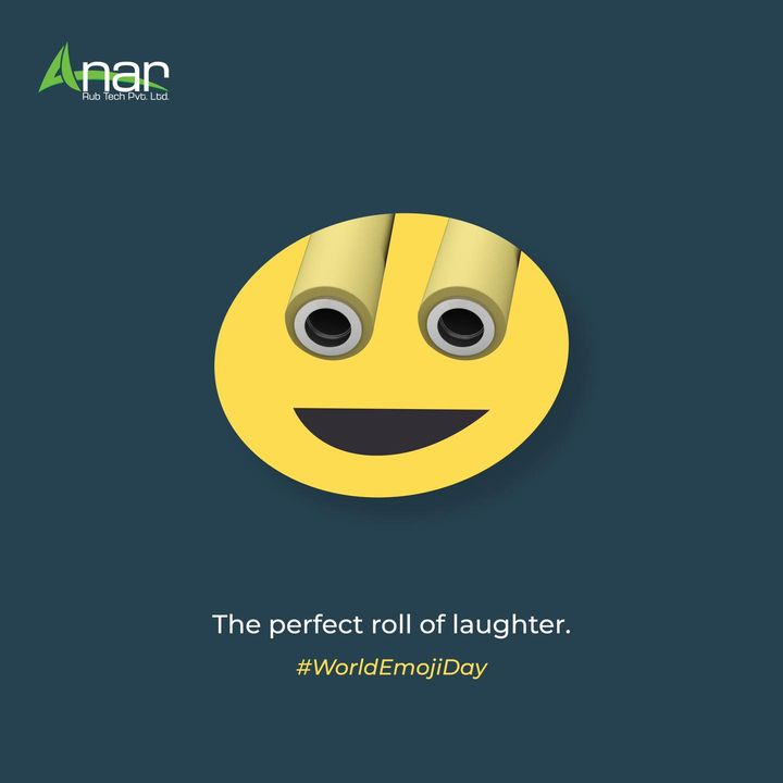 The emojis that roll out the day with happiness.  #emojiday  #worldemojiday  #emojiday2021  #topicalpost #topicalspot #rubberrollers #businessequipments #anarrubtech