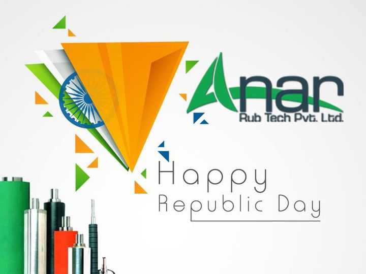 Anar Rub Tech Pvt Ltd:  Get to gather, be the strength of the nation and help it reach greatest heights!! Best wishes on this Republic Day  #AnarRubTech #LeafTypeAirExpandingShaft #RubberRoller #RubberExpander #SafetyChuck #AirExpandingShaft #PURoller #AirShafts #republicday