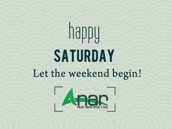 Happy Saturday   Let the Weekend Begin....!!!  www.anarrubber.com  #AnarRubTech #LeafTypeAirExpandingShaft #RubberRoller #RubberExpander #SafetyChuck #AirExpandingShaft #PURoller #AirShafts