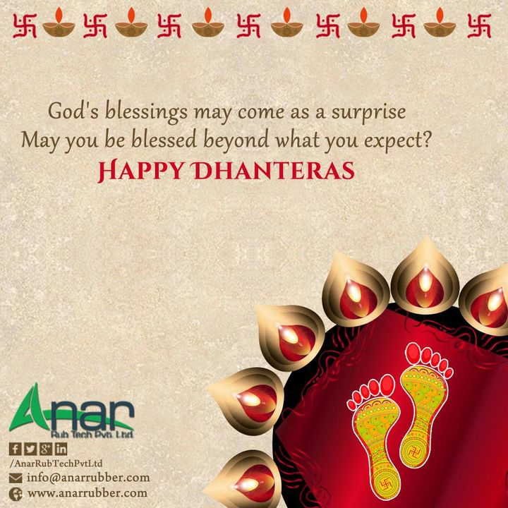 Wish You & Your Family      Happy Dhanteras  #Happydhanteras #AnarRubTech  #LeafTypeAirExpandingShaft  #RubberRoller #RubberExpander  #SafetyChuck  #AirExpandingShaft #PURoller #AirShafts #AnarRubTechPvtLtd