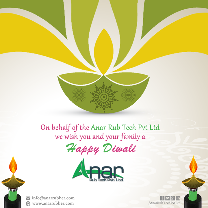 Wish You & Your Family      HappyDiwali & Happy New Year  #HappyDiwali #happynewyear #AnarRubTech  #LeafTypeAirExpandingShaft  #RubberRoller #RubberExpander #SafetyChuck  #AirExpandingShaft #PURoller #AirShafts #AnarRubTechPvtLtd