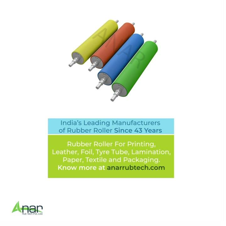 Rubber Rollers are an integral part of Manufacturing Industry and we will be sharing our journey as the eminent manufacturers of Rubber Rollers since 1978   - Anar Rub Tech Pvt Ltd  #rubberroller #rubbersleeve #manufacturingindustry #plasticindustries #paperindustry #textileindustry #polyester #rollers #dyeing #anarrubtechpvtltd #equipments #equipmentsupplier #rubberindustry #rubberproducts