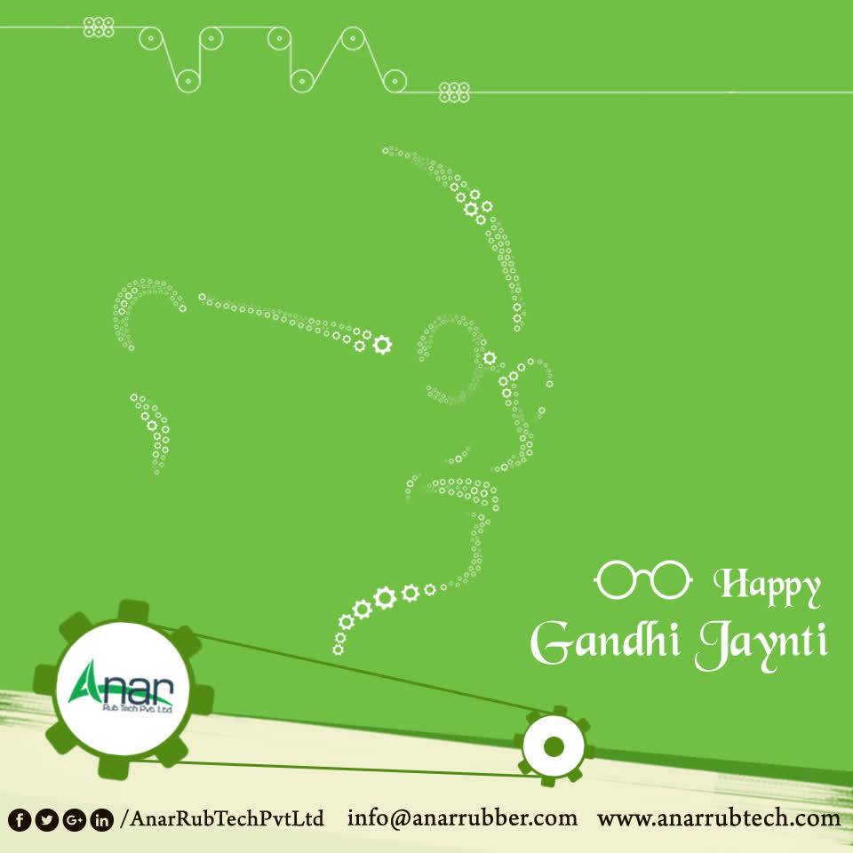 Celebrate the day of Father of Nation by handing over a few accomplishments towards the Nation and spread the truth and non-violence. #HappyGandhiJayanti #GandhiJayanti #AnarRubTechPvtLtd