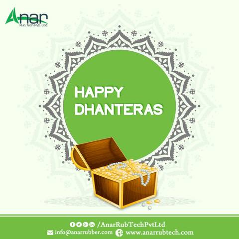 May this Dhanteras shower you with wealth and prosperity as you journey towards greater success.  #HappyDhanteras #Dhanteras #RubberRollerManufacturers   #RubberRollerSuppliers   #RubberRollerExporters