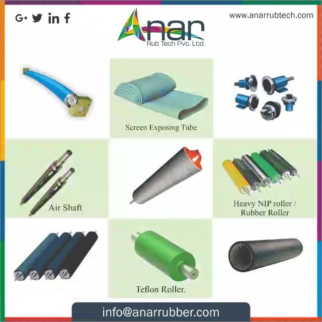 Anar the most spectacular manufacturing company of rubber products has numerous range of products for year consideration. Contact to know more. #AnarRubTech #RubberRollerManufacturer #RubberRollerExporters #RubberRollerSuppliers