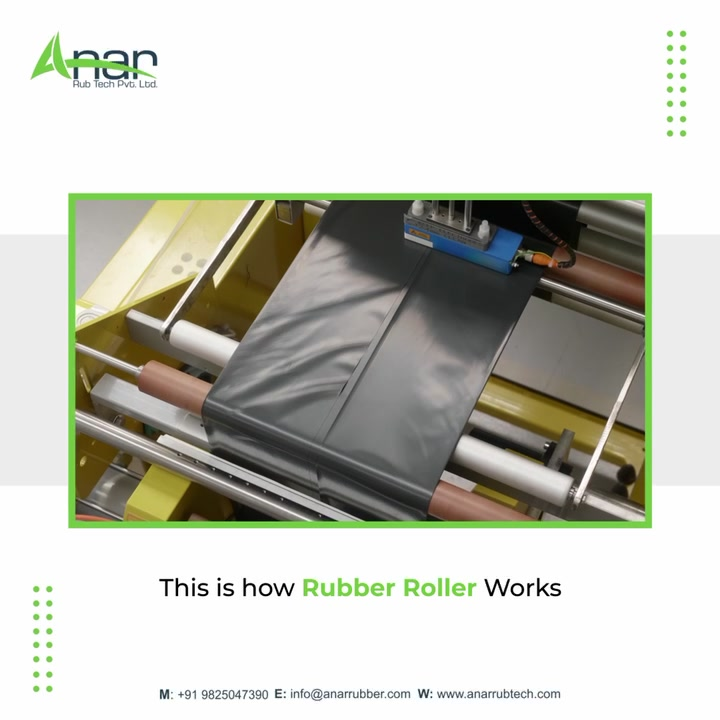 Behind the scenes of the industry's best rubber rollers!   These rubber rollers can be used for plastic related industries and domains with great flexibility.   Visit anarrubtech.com for more details!  #plasticindustry #anarrubtech #rubberrollers #rubberroller #webcontrolequipments #rubberrollersupplier #plasticpackaging #businessequipments